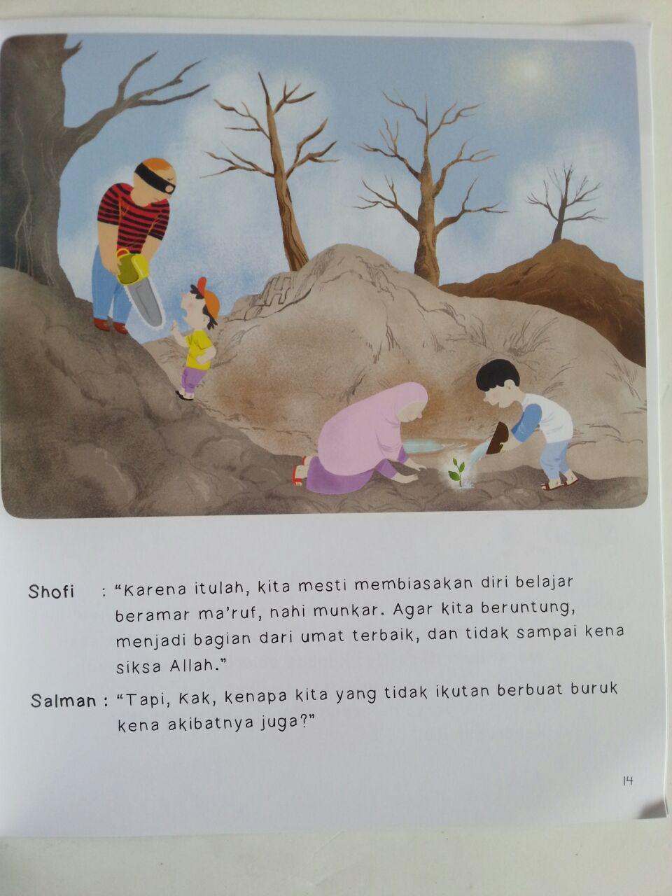Buku Anak Seri Riyadhus Shalihin For Kids Amar Maruf Nahi Munkar isi 2
