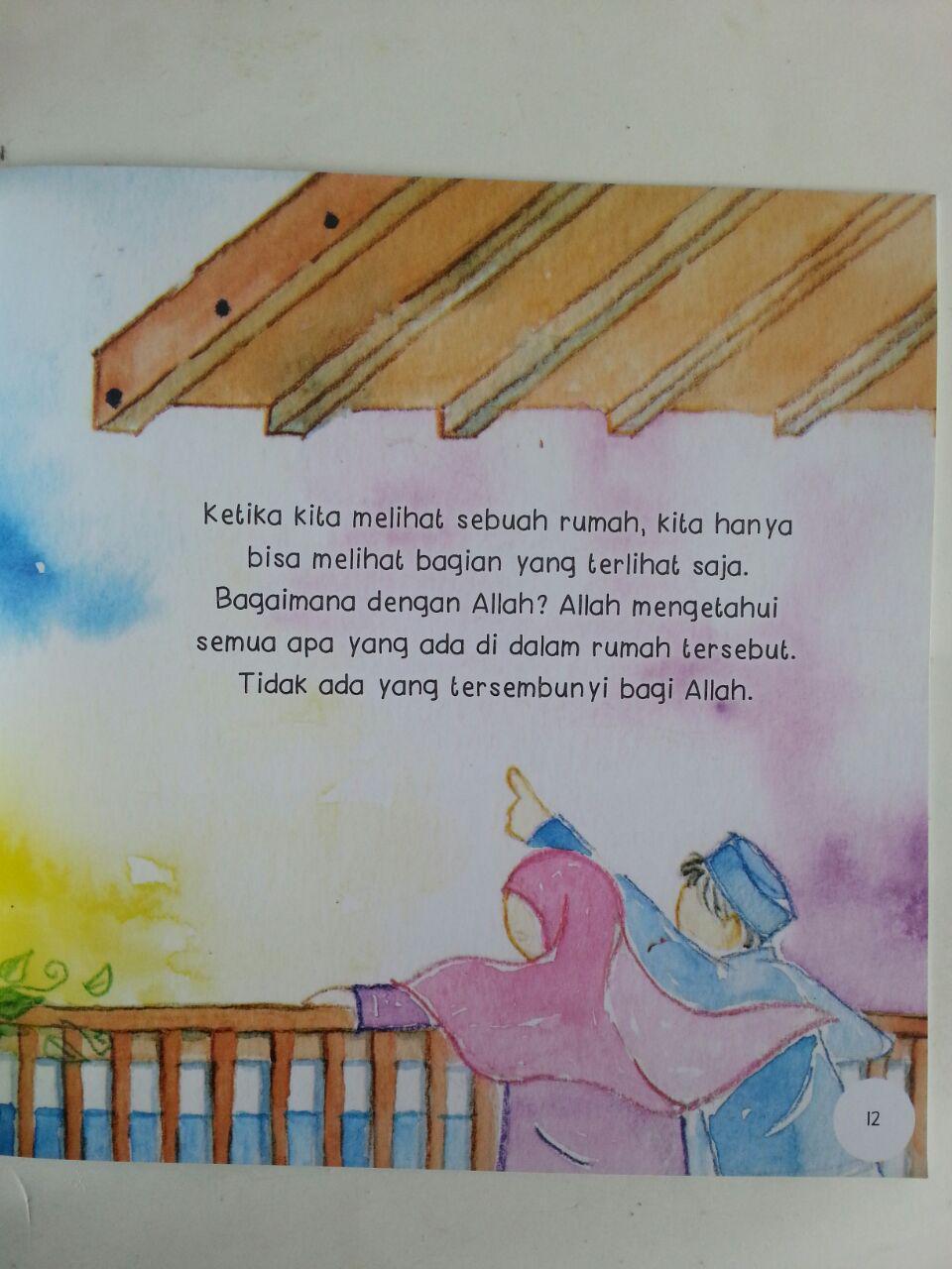 Buku Anak Seri Ushul Tsalatsah For Kids Mengenal Allah isi 2