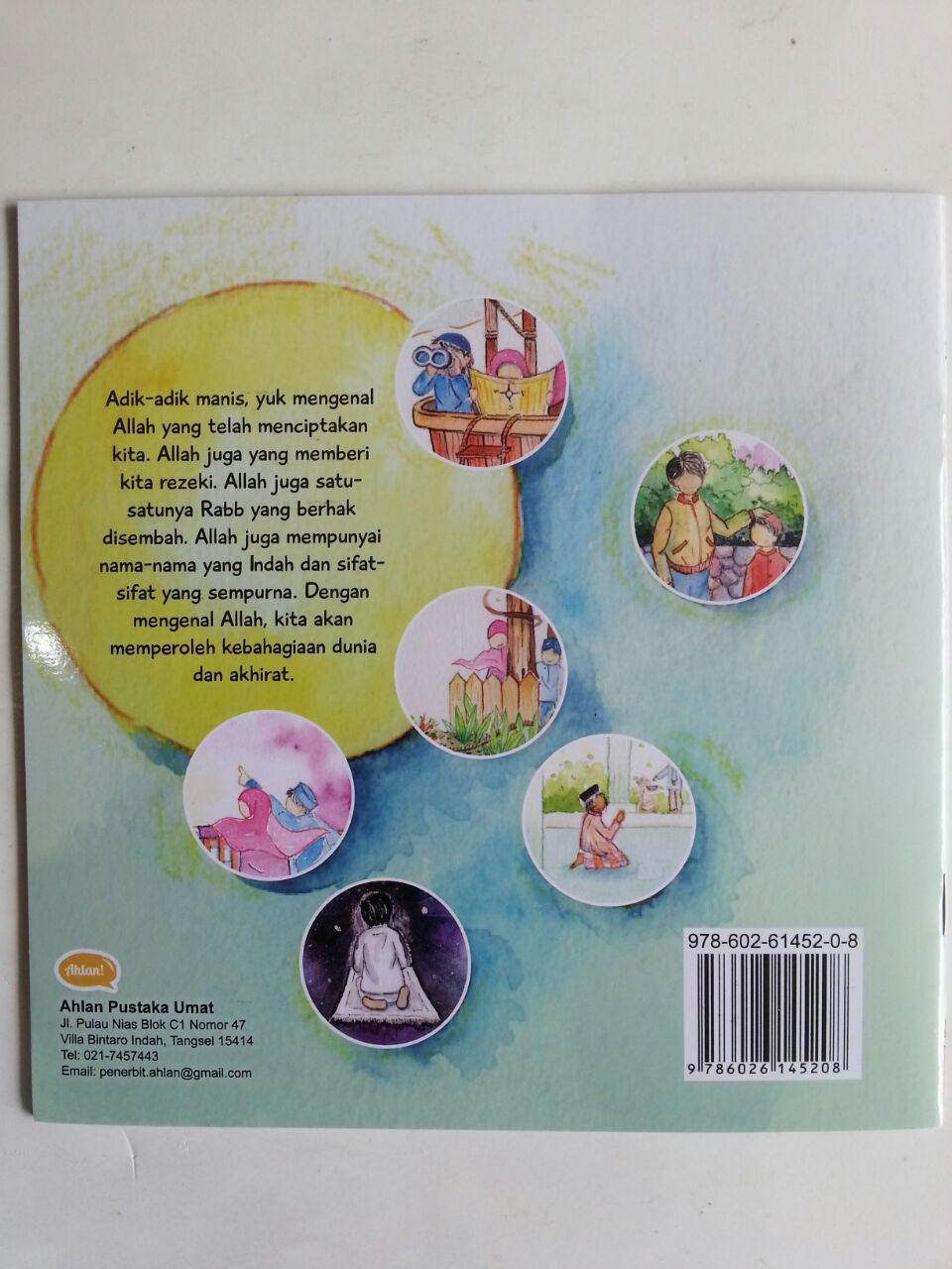 Buku Anak Seri Ushul Tsalatsah For Kids Mengenal Allah isi 3