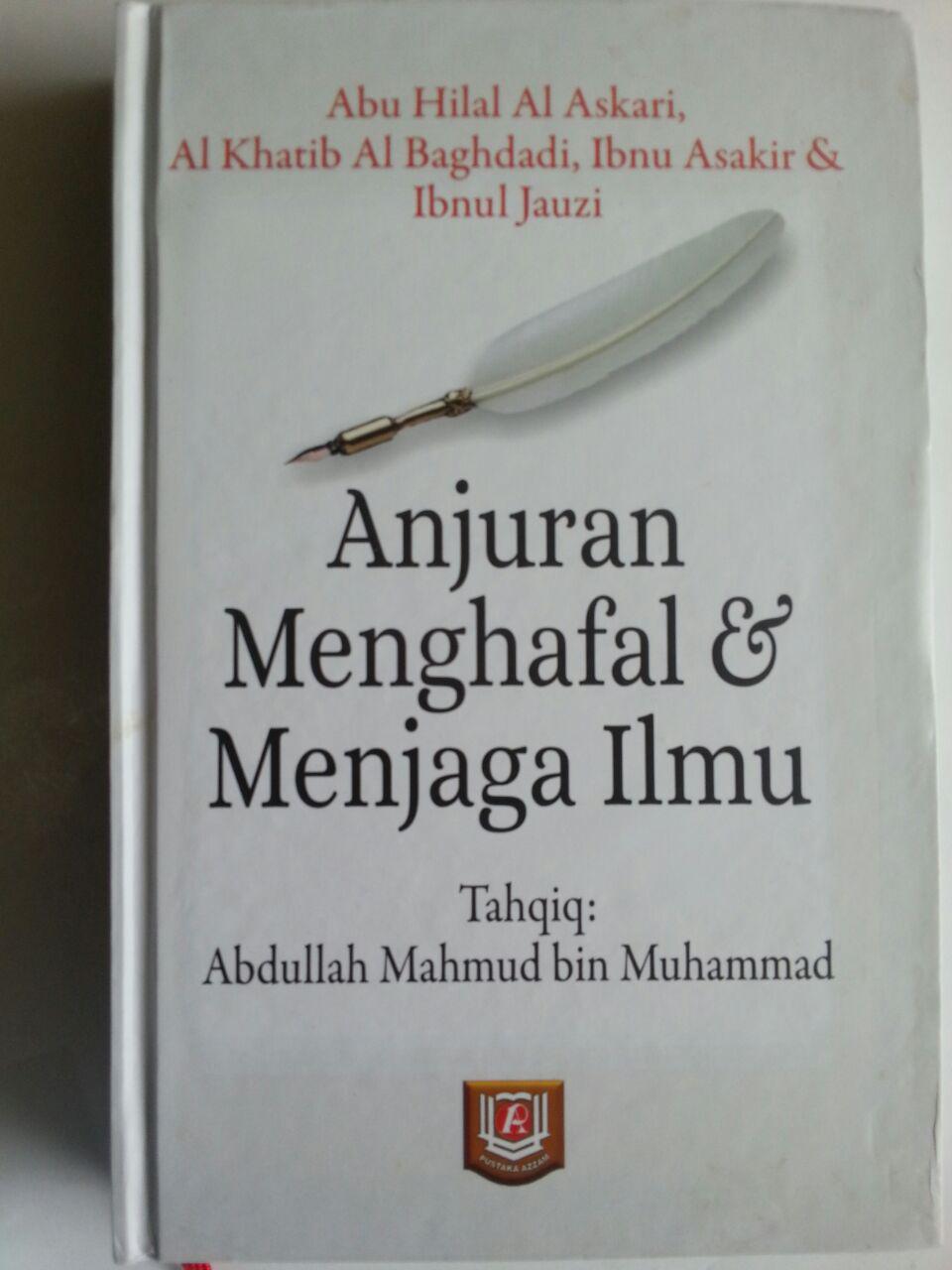 Buku Anjuran Menghafal Dan Menjaga Ilmu cover 2