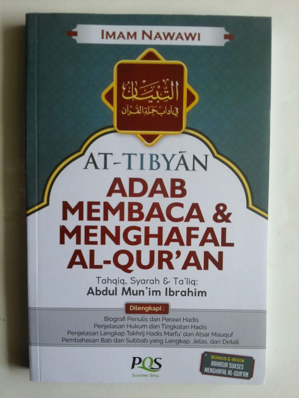 Buku At-Tibyan Adab Membaca Dan Menghafal Al-Qur'an cover 2