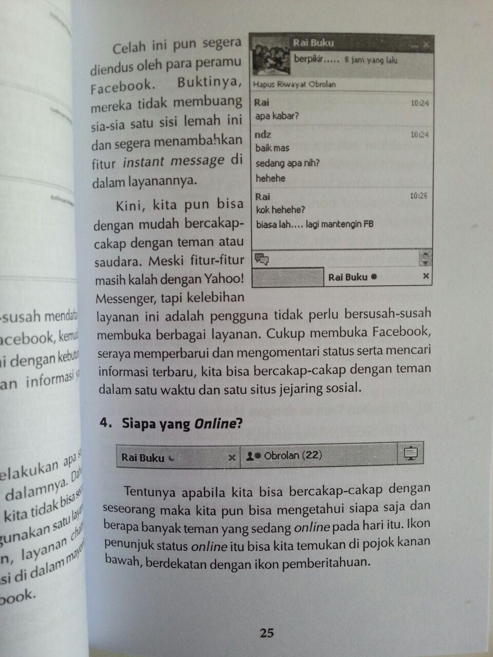 Buku Bahaya Facebook Bagaimana Berfacebook Dengan Aman Sehat Islami isi 3