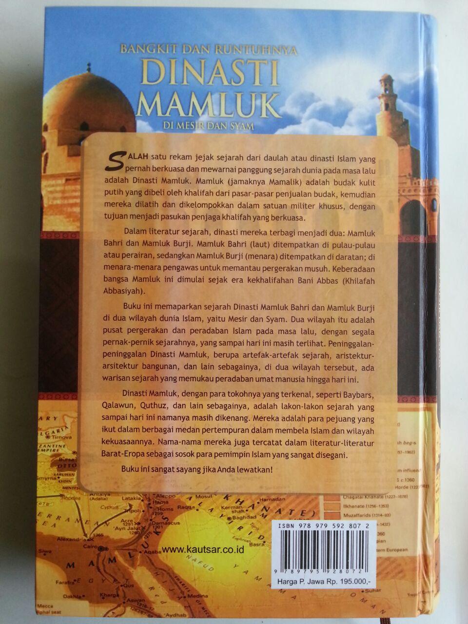 Buku Bangkit Dan Runtuhnya Dinasti Mamluk Di Mesir Dan Syam cover