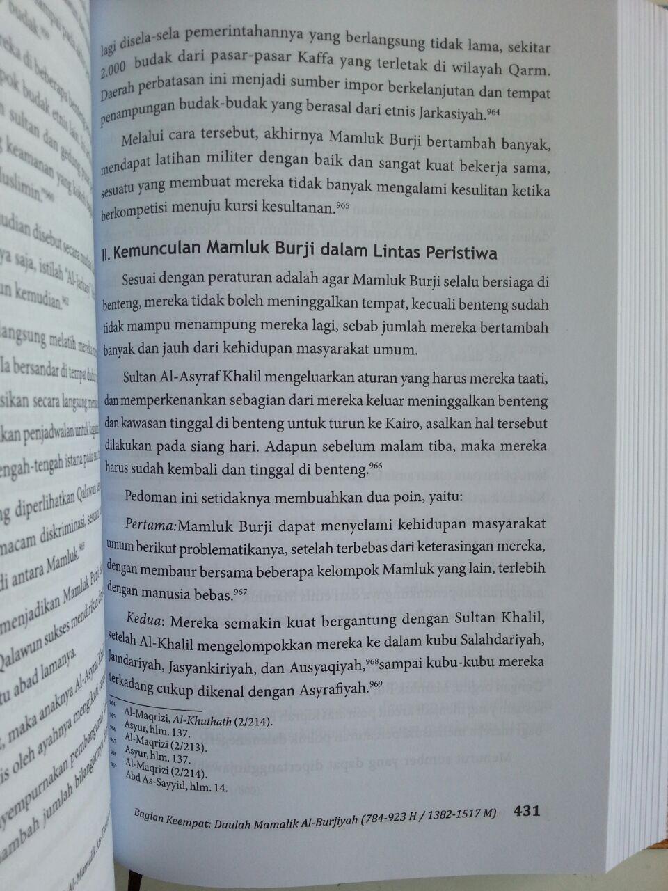 Buku Bangkit Dan Runtuhnya Dinasti Mamluk Di Mesir Dan Syam isi 3