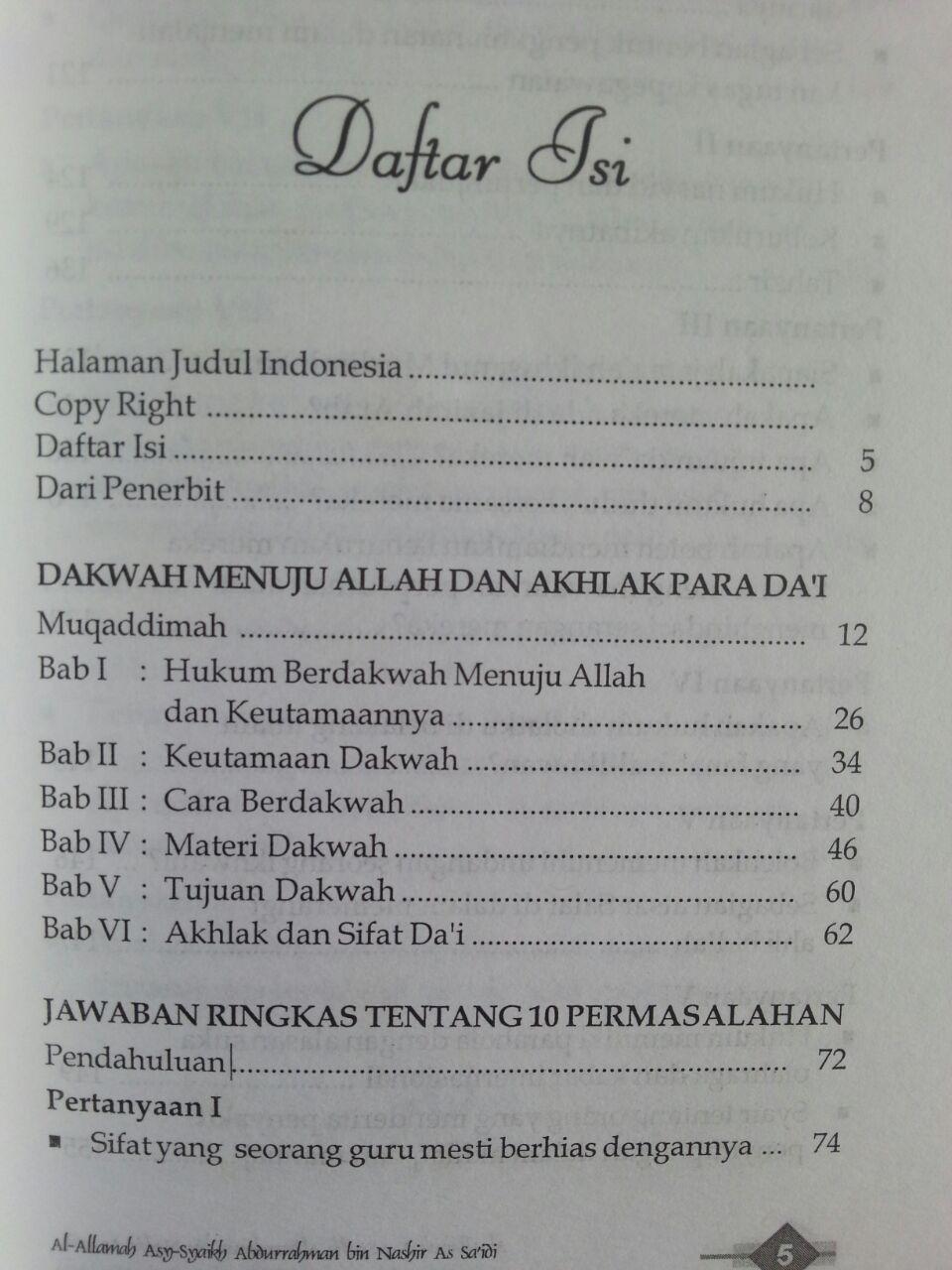 Buku Dakwah Dan Akhlak Dai isi 2