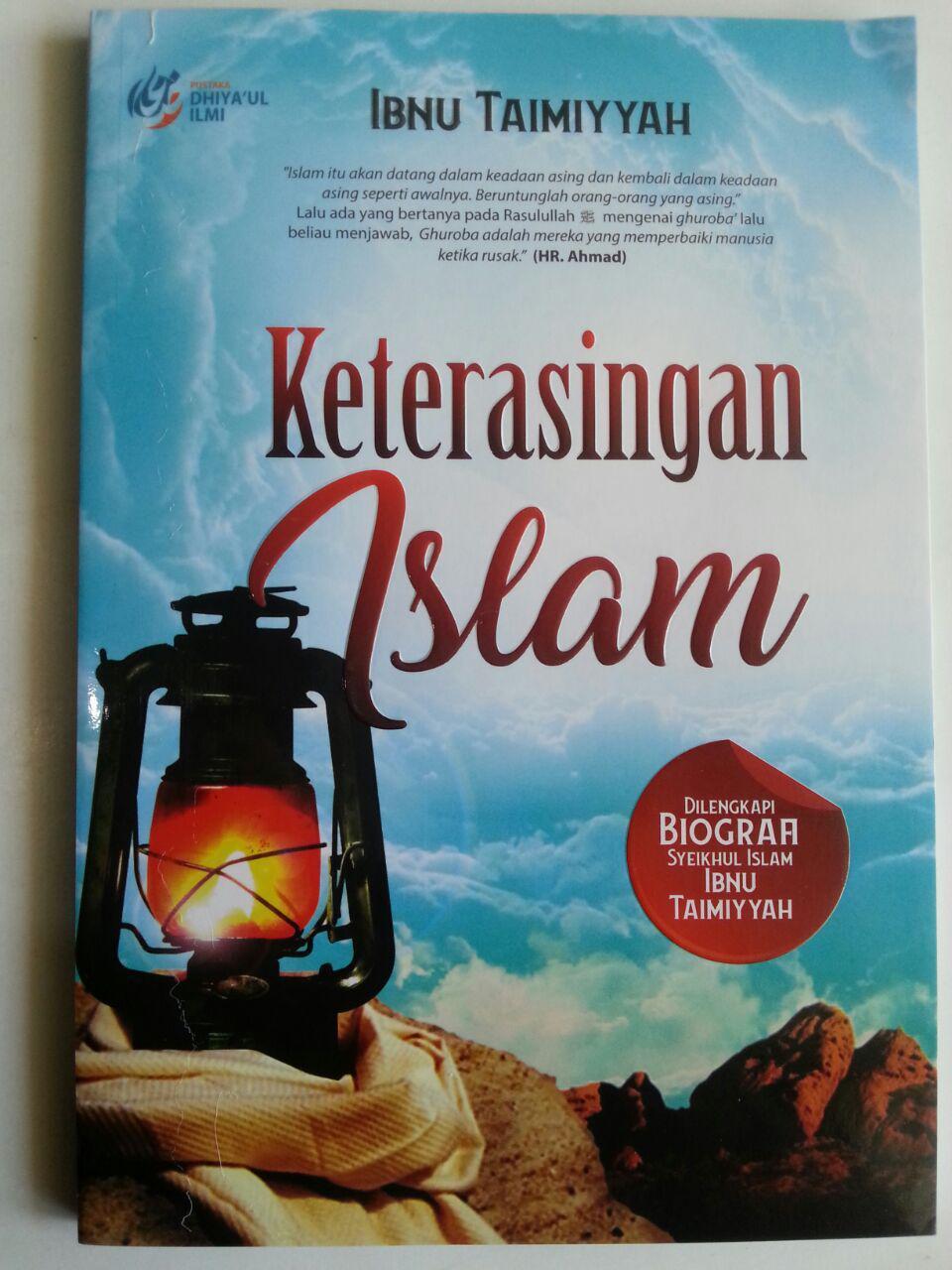 Buku Keterasingan Islam Dilengkapi Biografi Ibnu Taimiyyah cover 2