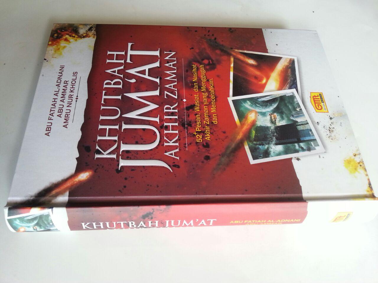 Buku Khutbah Jum'at Akhir Zaman 52 Pesan Wasiat Nasihat Menggugah cover