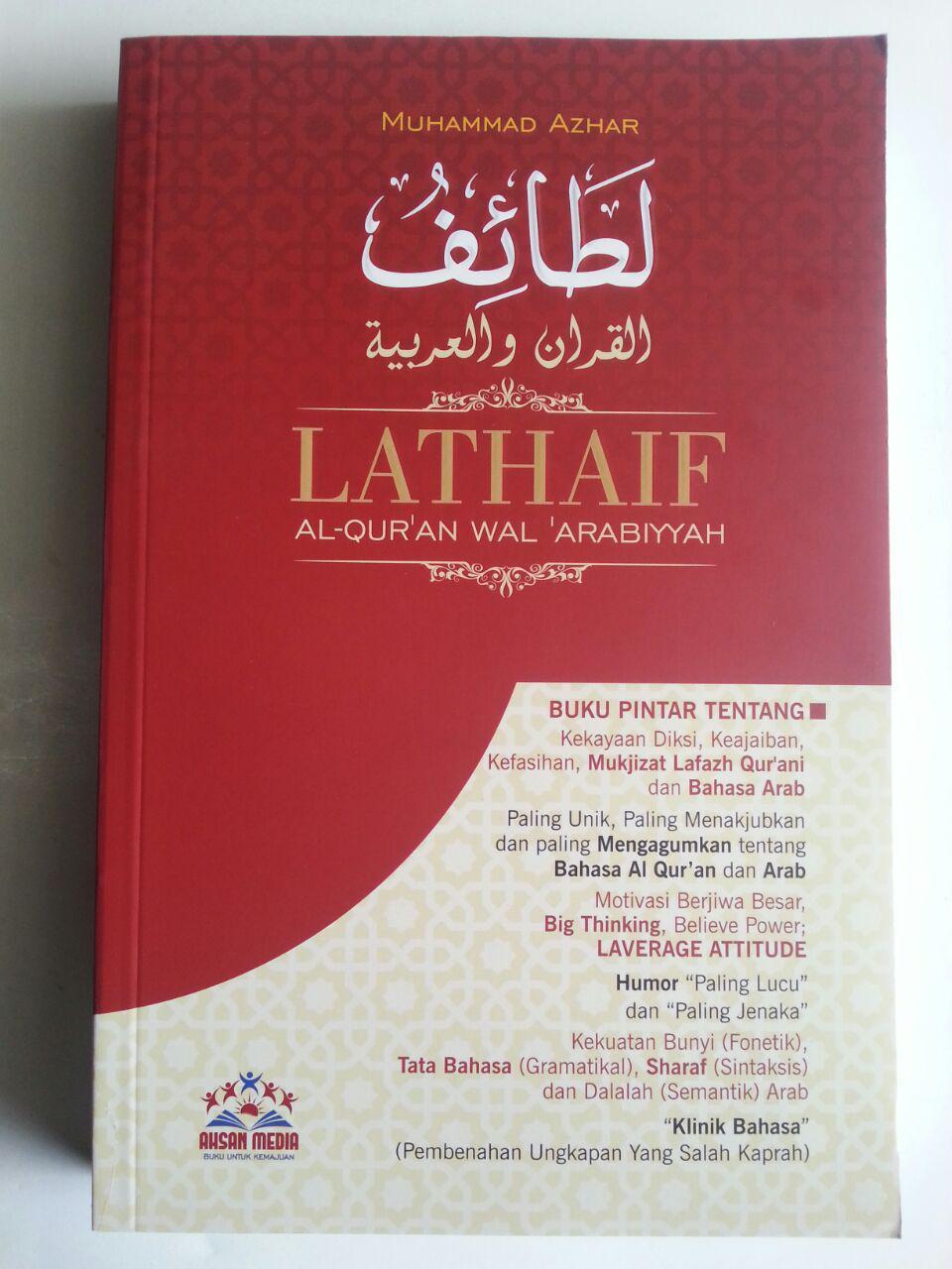 Buku Lathaif Al-Qur'an Wal Arabiyyah Buku Pintar Qur'an Bahasa Arab cover 2