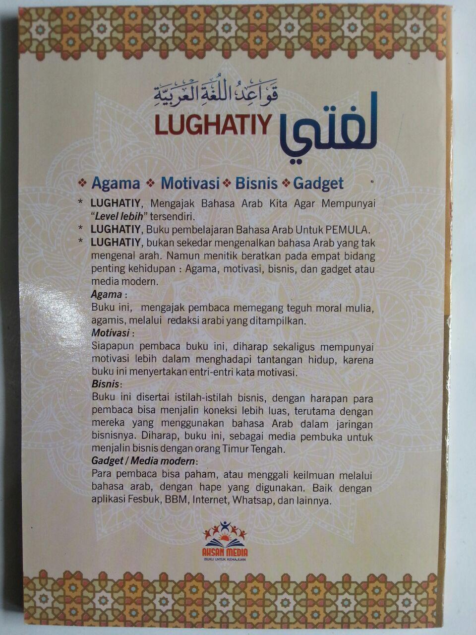 Buku Lughoti Jurus Taktis Menguasai Bahasa Arab Untuk Pemula 2 cover