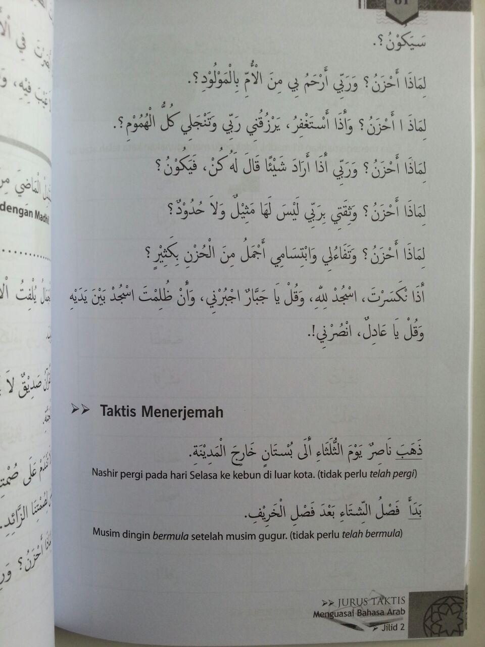 Buku Lughoti Jurus Taktis Menguasai Bahasa Arab Untuk Pemula 2 isi 3