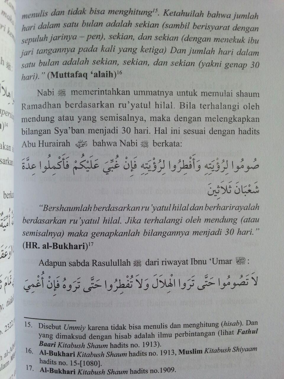 Buku Menentukan Awal Dan Akhir Ramadhan Dengan Ru'yatul Atau Hisab isi 3