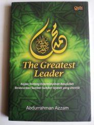 Buku Muhammad The Greatest Leader Kajian Kepemimpinan Rasulullah cover 2