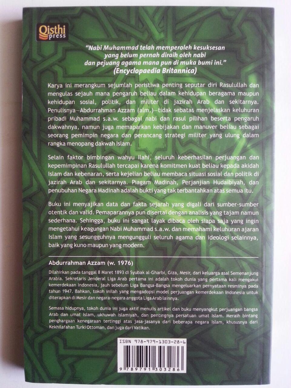Buku Muhammad The Greatest Leader Kajian Kepemimpinan Rasulullah cover