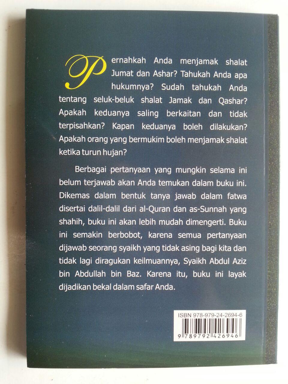 Buku Panduan Shalat Jamak Dan Qashar cover