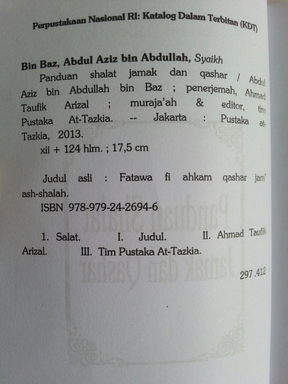Buku Panduan Shalat Jamak Dan Qashar isi 2