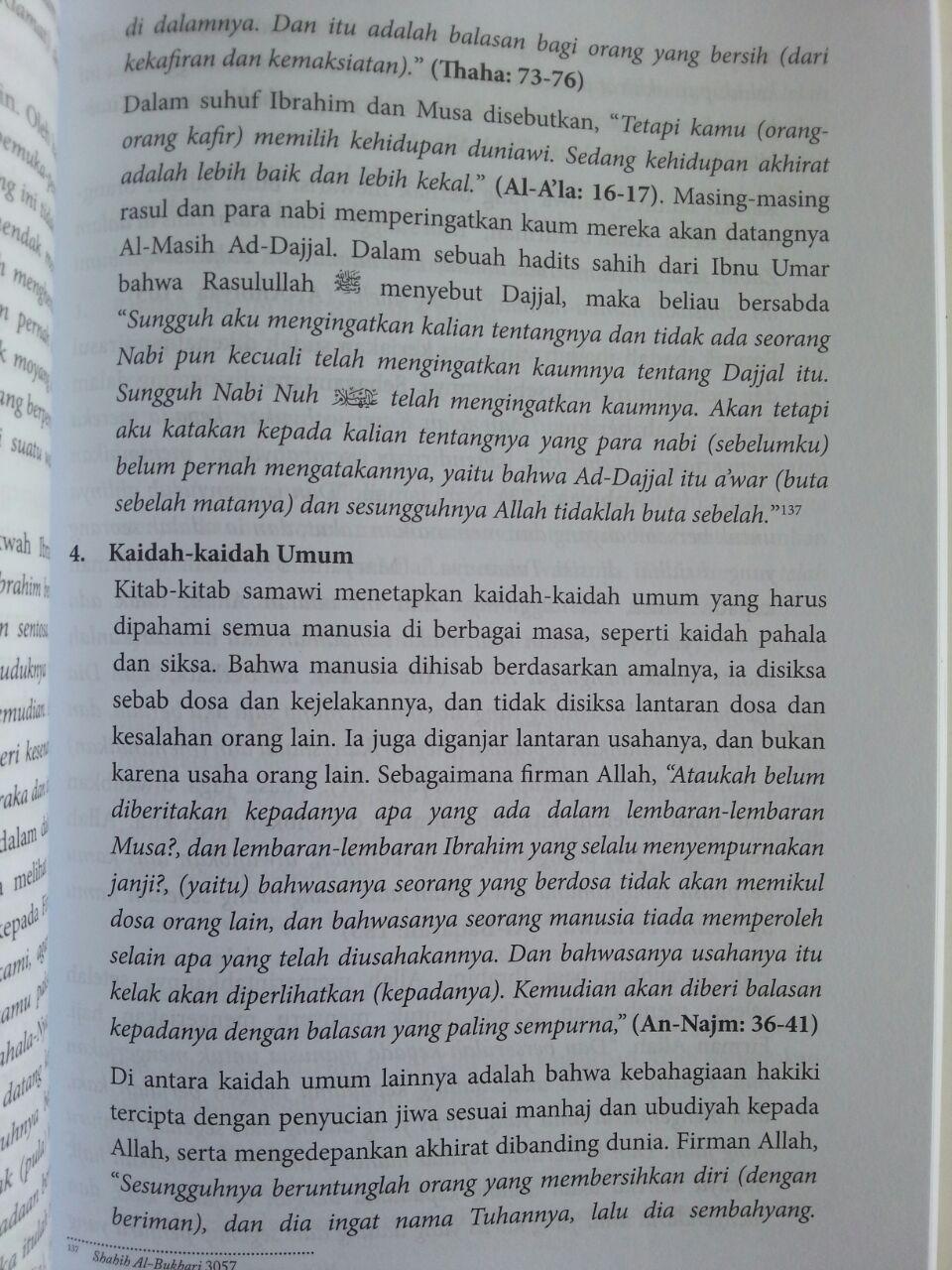 Buku Pengantar Studi Akidah Islam isi 3