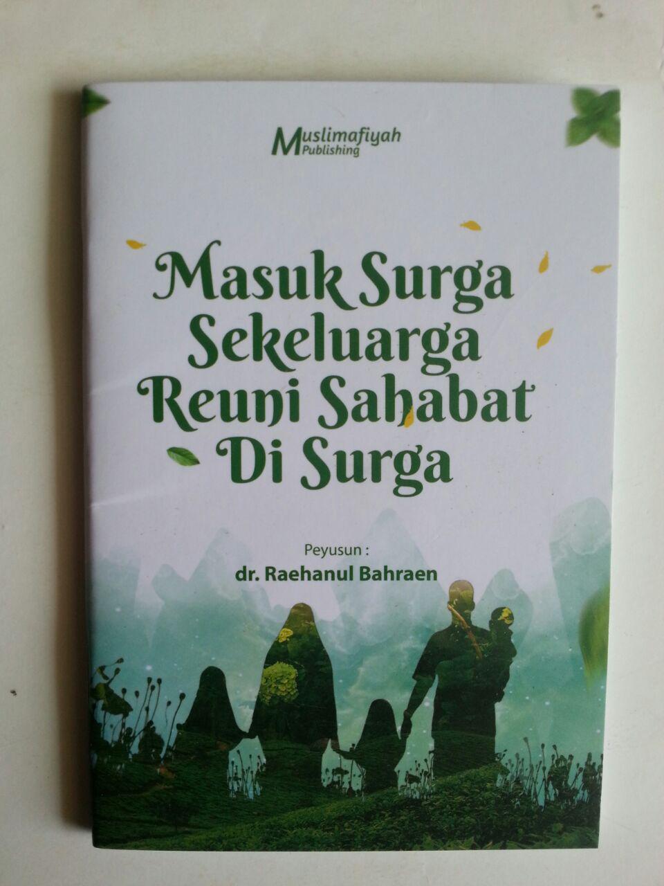 Buku Saku Masuk Surga Sekeluarga Reuni Sahabat Di Surga cover 2