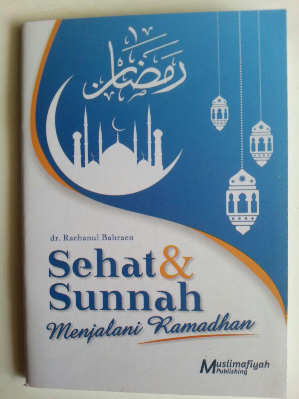 Buku Saku Sehat Dan Sunnah Menjalani Ramadhan cover 2