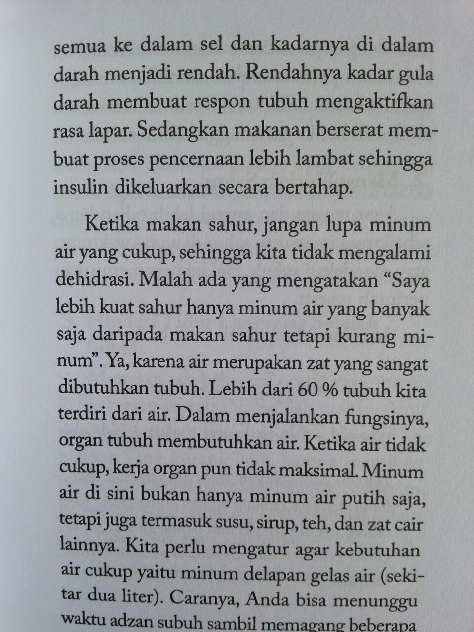 Buku Saku Sehat Dan Sunnah Menjalani Ramadhan isi 3