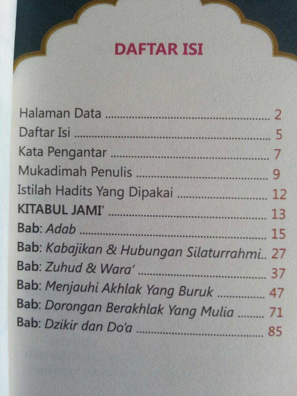 Buku Saku Terjemah Kitabul Jami Dari Bulughul Maram isi 2