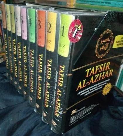Buku Tafsir Al-Azhar Hamka 1 Set 9 Jilid cover 3