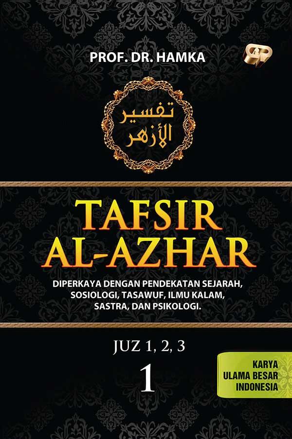 Buku Tafsir Al-Azhar Hamka 1 Set 9 Jilid cover
