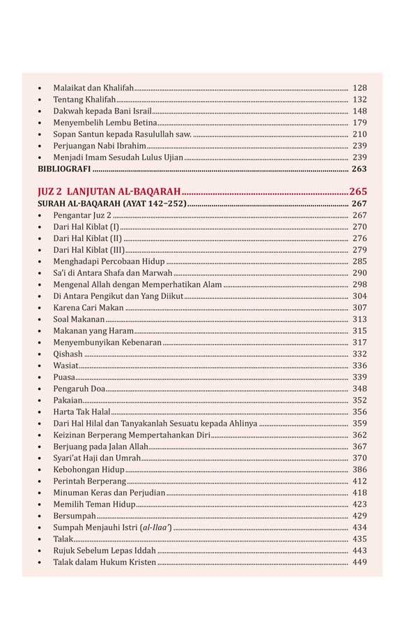 Buku Tafsir Al-Azhar Hamka 1 Set 9 Jilid isi 2