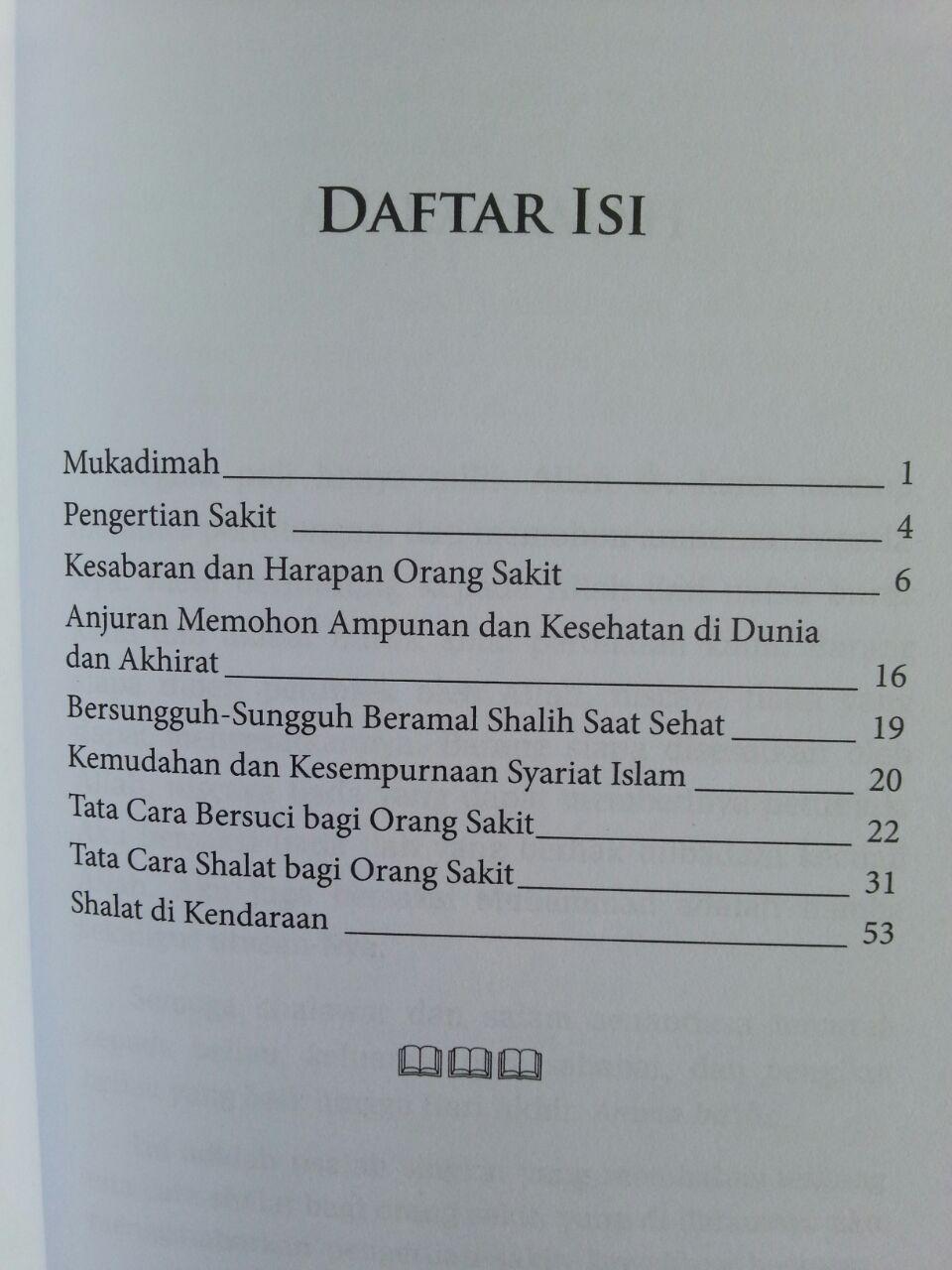 Buku Tata Cara Shalat Bagi Orang Sakit isi 2