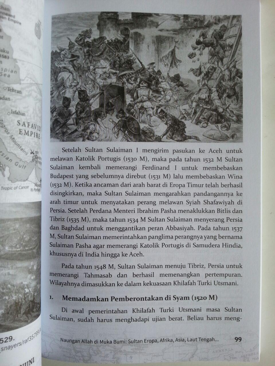 Buku The Magnificent Sulaiman Al-Qanuni Sultan Penakluk Tiga Benua isi 3