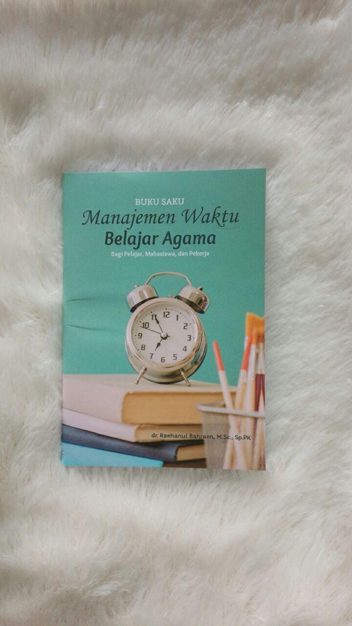 buku manajemen waktu belajar agama