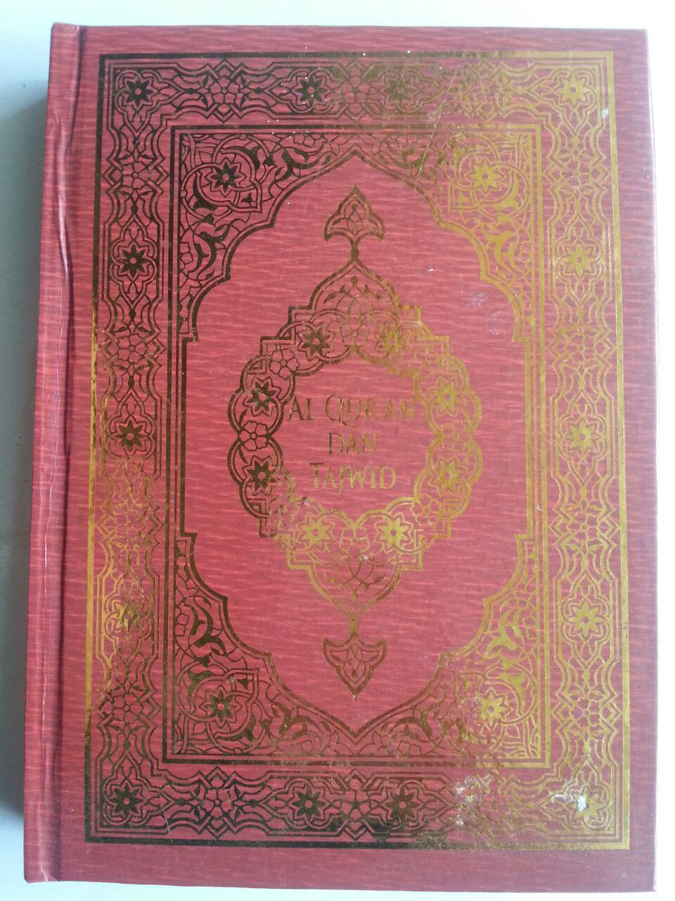 Al-Qur'an Dan Tajwid Lokal Ukuran A5 Tanpa Terjemah cover 2