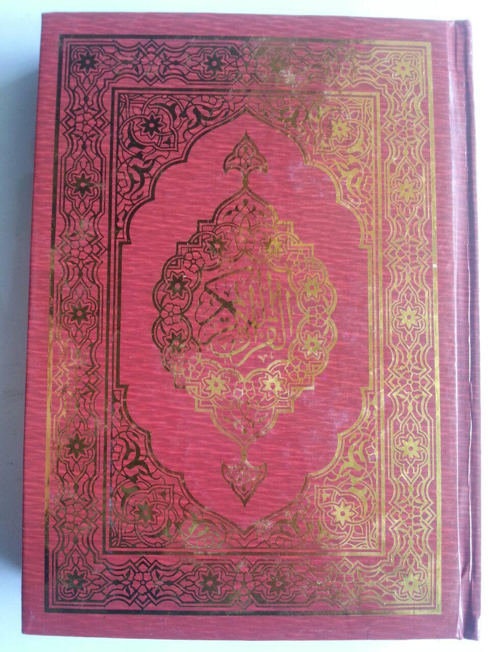Al-Qur'an Dan Tajwid Lokal Ukuran A5 Tanpa Terjemah cover