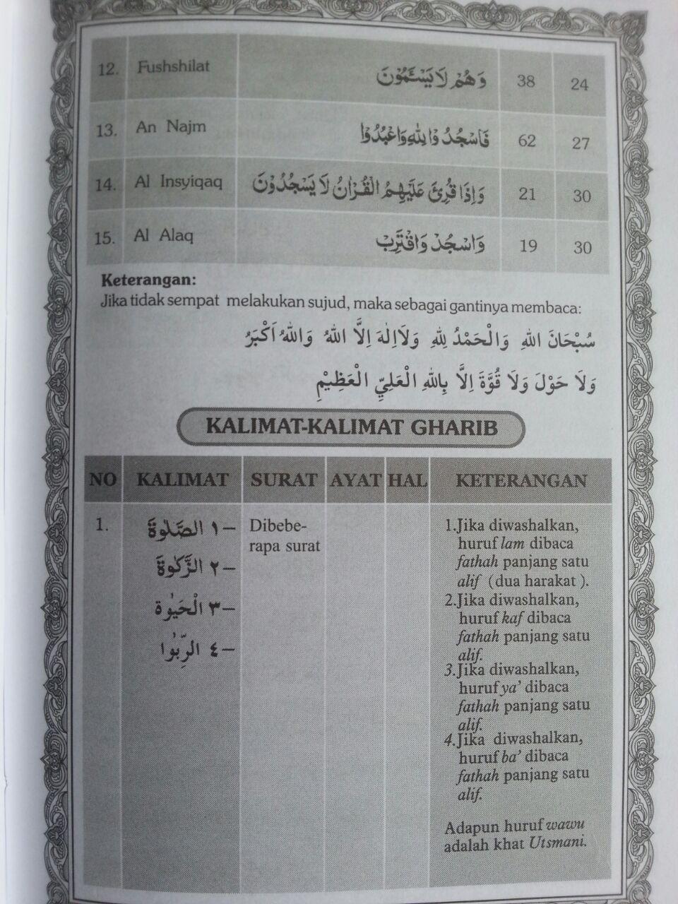 Al-Qur'an Dan Tajwid Lokal Ukuran A5 Tanpa Terjemah isi 2