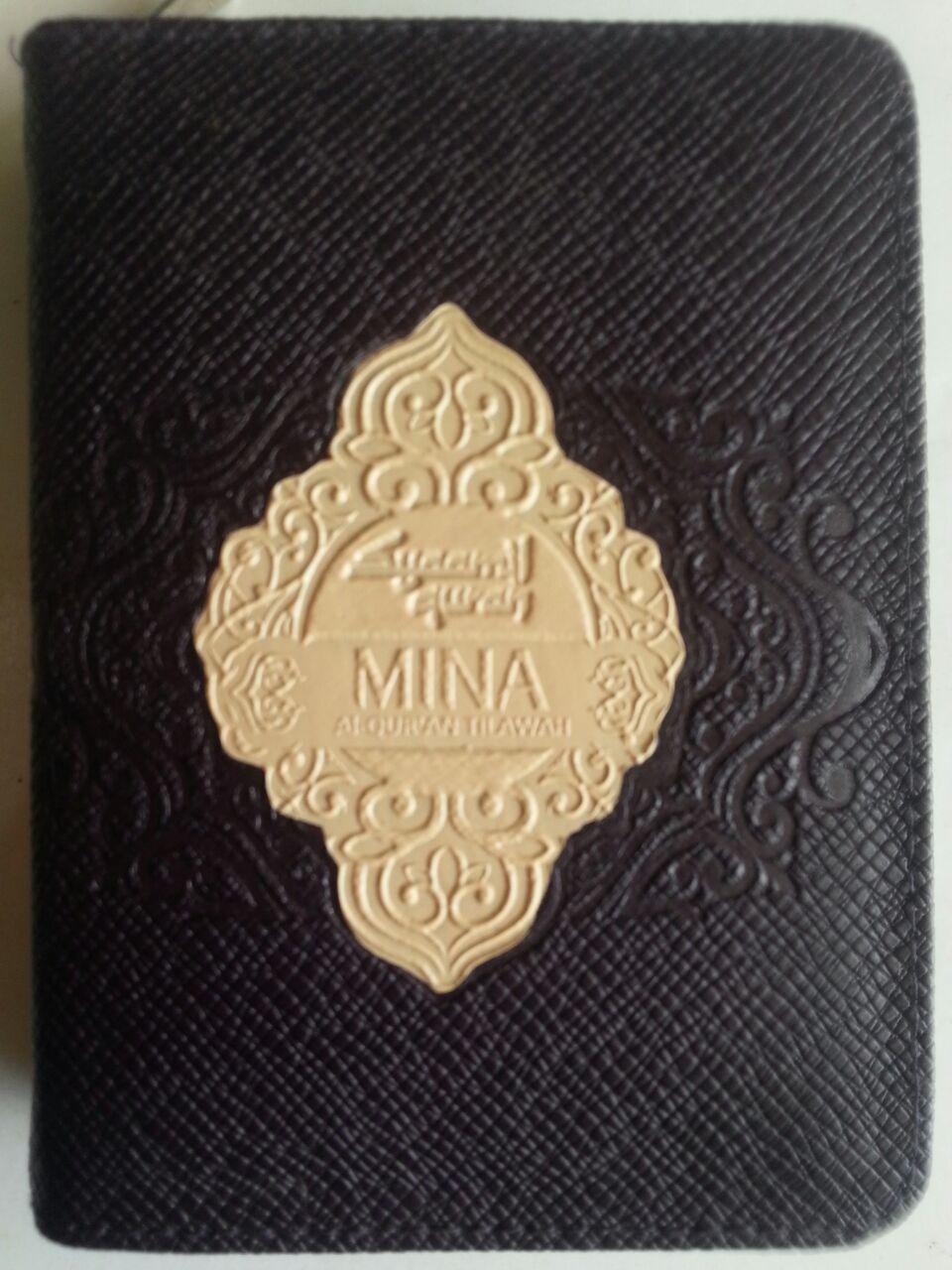 Al-Qur'an Saku Tilawah Mina Tanpa Terjemah Resleting A7 cover 2