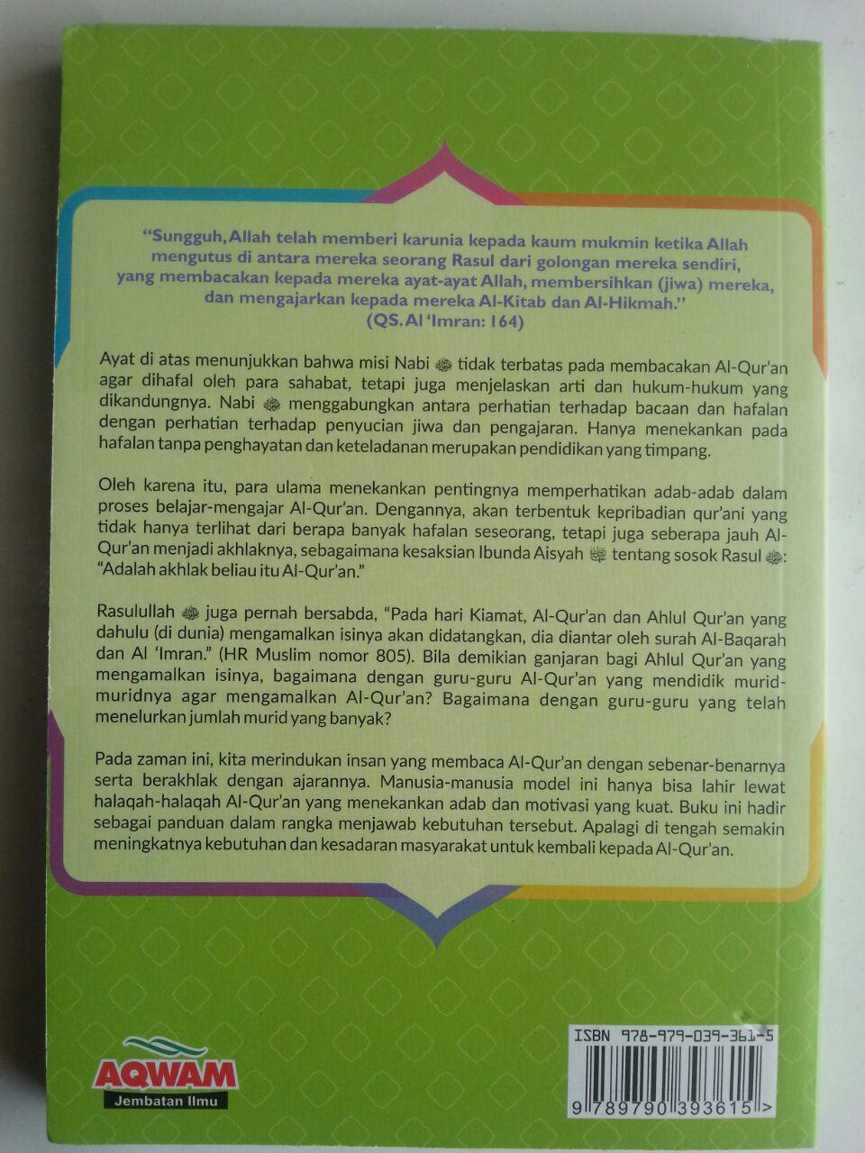 Buku Adab-Adab Halaqah Al-Qur'an Belajar Dari Tradisi Ulama cover
