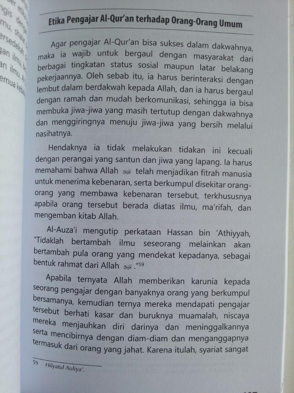 Buku Adab-Adab Halaqah Al-Qur'an Belajar Dari Tradisi Ulama isi 4