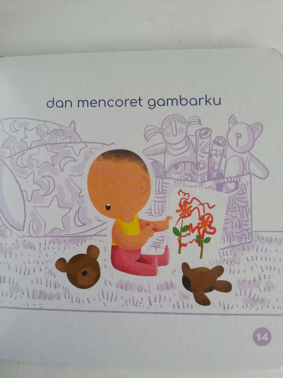 Buku Anak Boarbook Adik Tercinta isi 2