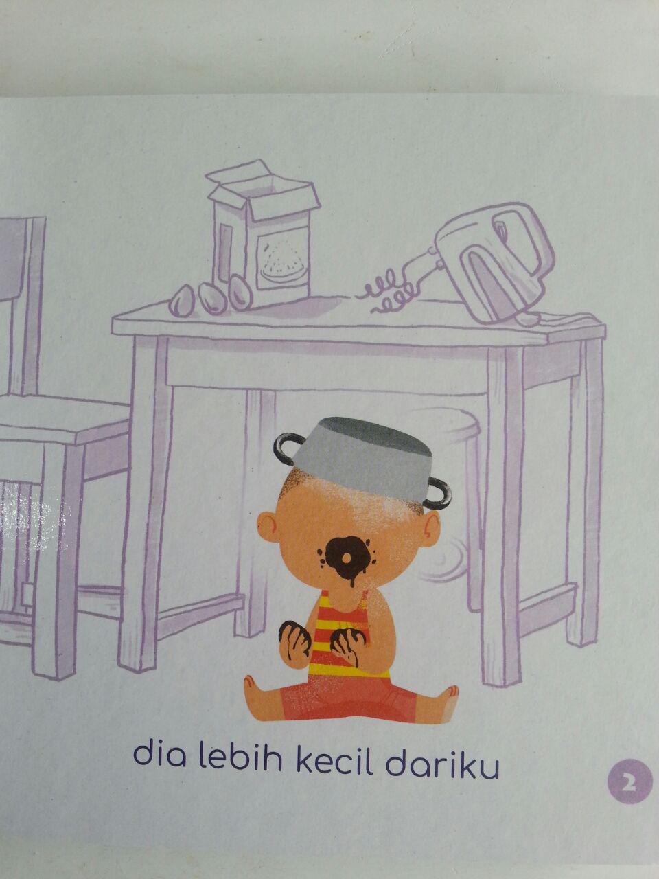 Buku Anak Boarbook Adik Tercinta isi