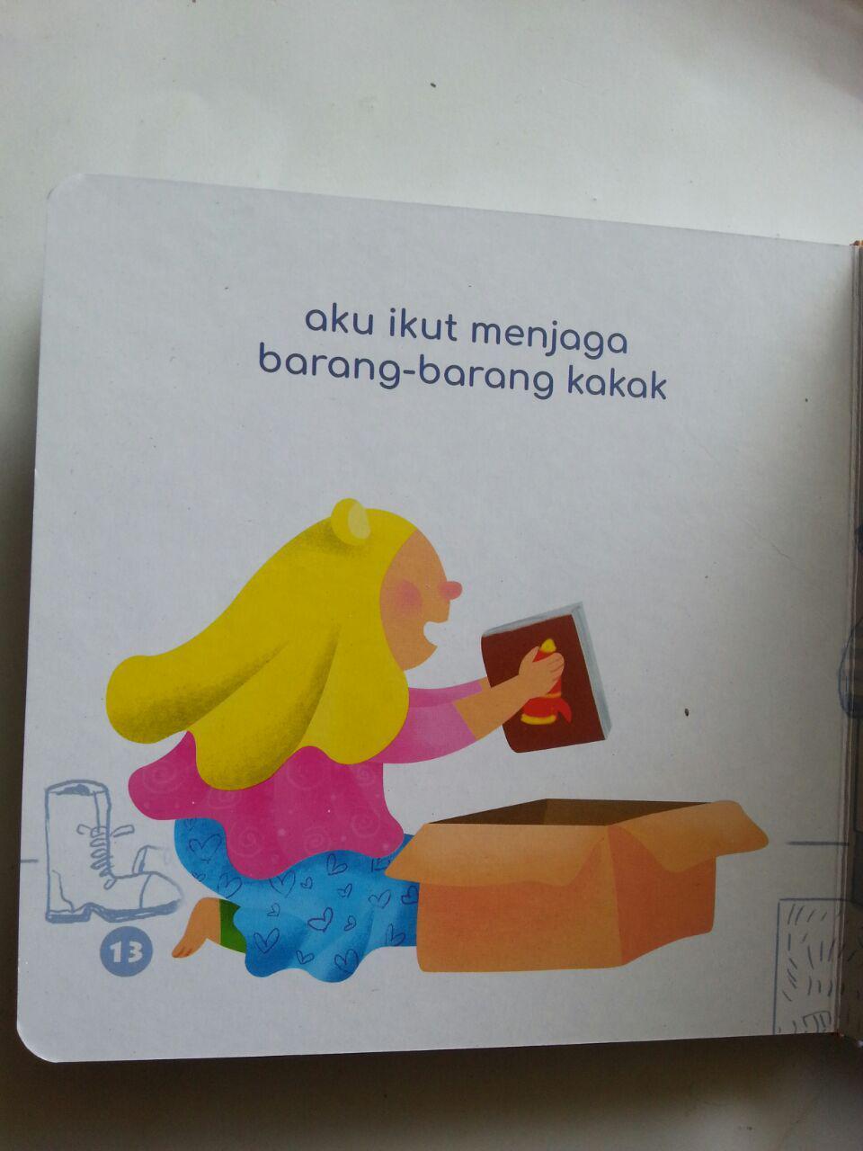 Buku Anak Boarbook Kakak Tercinta isi 3