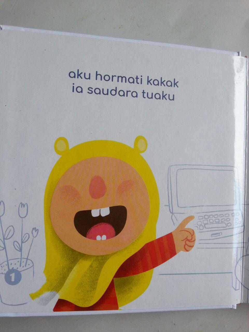 Buku Anak Boarbook Kakak Tercinta isi