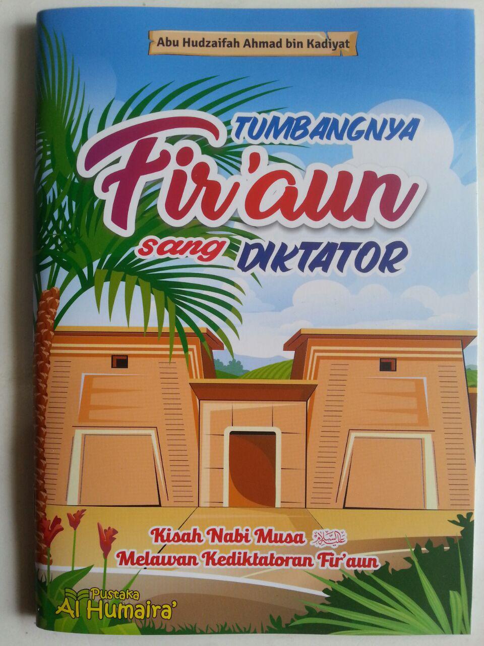 Buku Anak Tumbangnya Firaun Sang Diktator cover 2