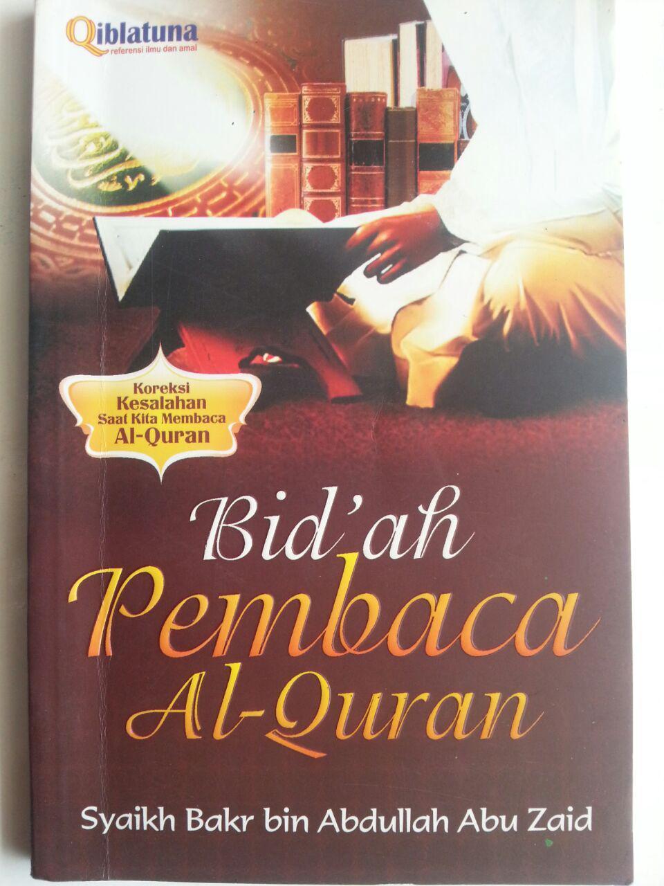Buku Bidah Pembaca Al-Qur'an Koreksi Kesalahan Membaca Qur'an cover 2