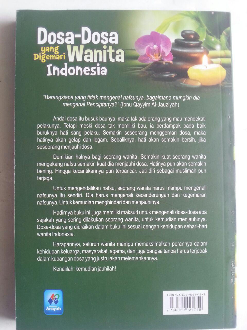 Buku Dosa-Dosa Yang Digemari Wanita Indonesia cover