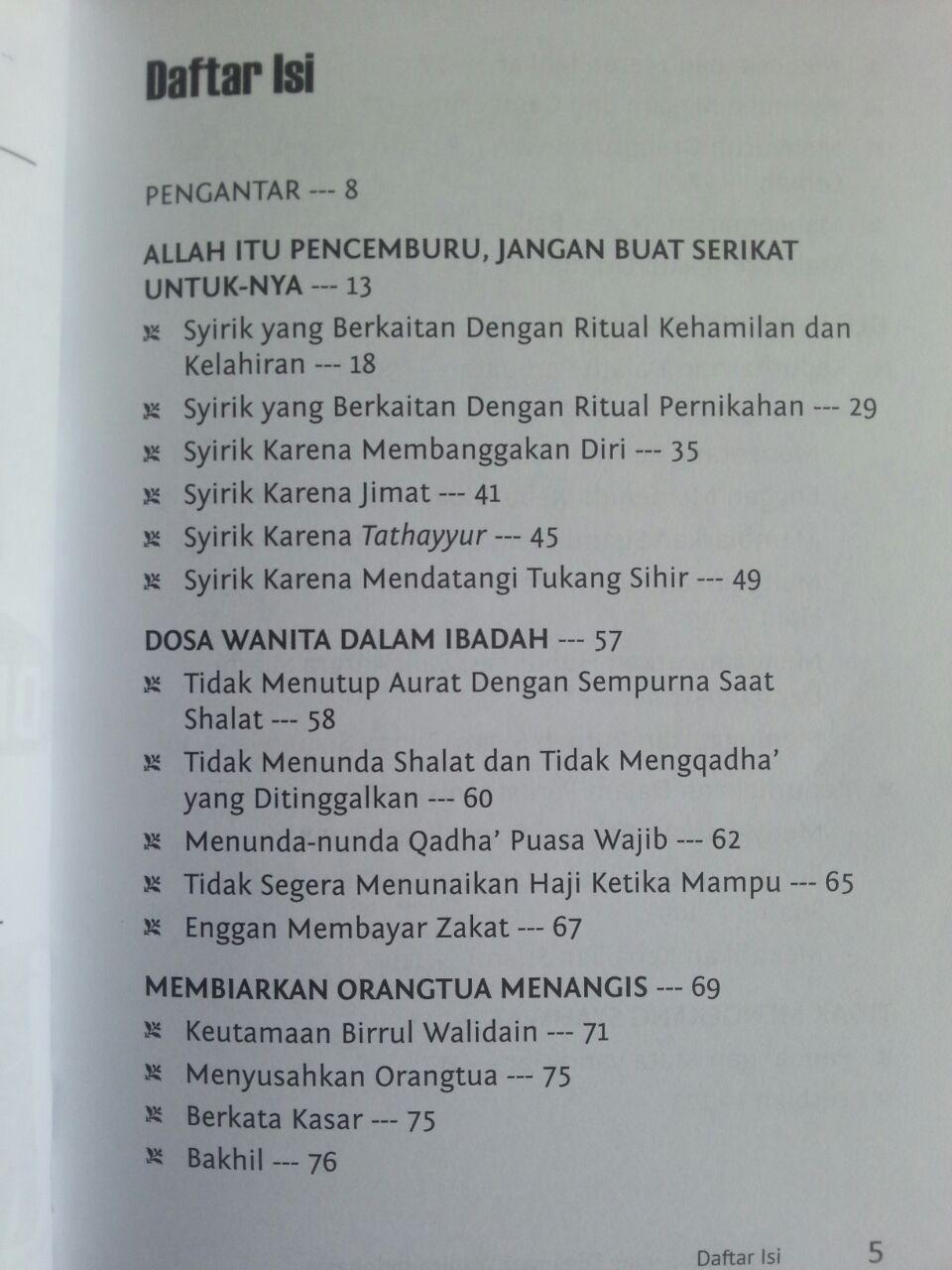 Buku Dosa-Dosa Yang Digemari Wanita Indonesia isi 2