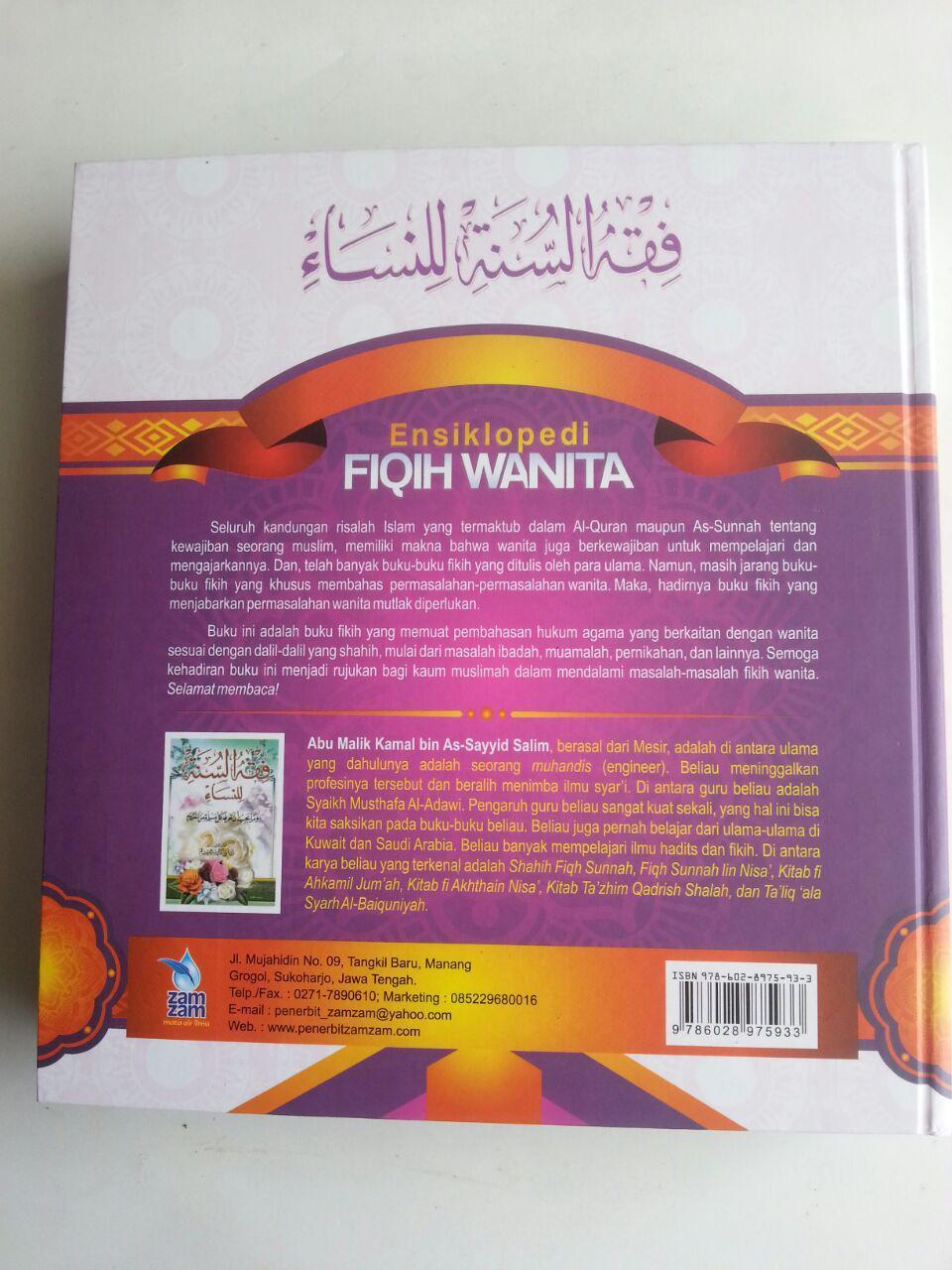 Buku Ensiklopedi Fiqih Wanita Pembahasan Lengkap Masalah Wanita cover