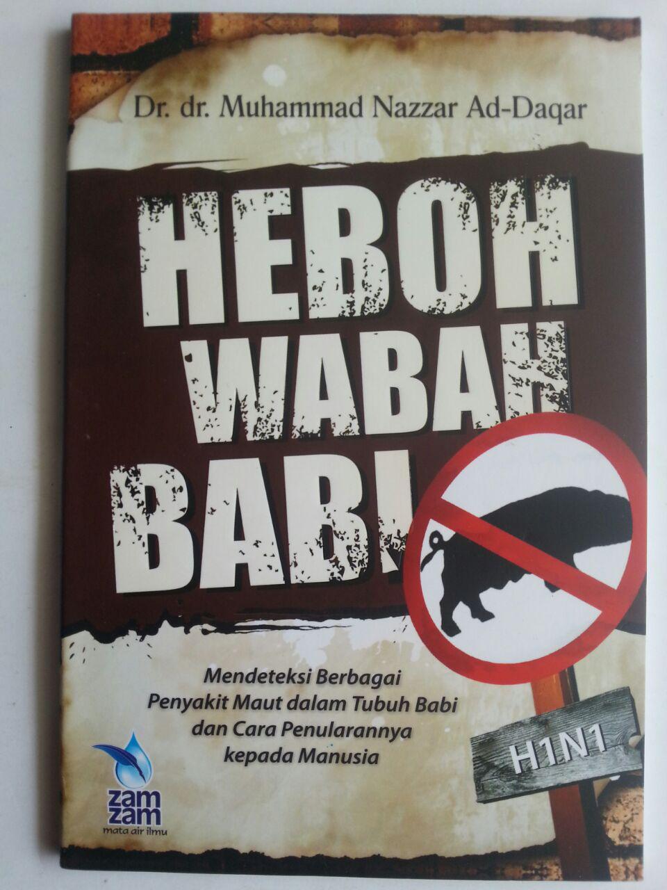 Buku Heboh Wabah Babi Mendeteksi Berbagai Penyakit Dalam Babi cover 2
