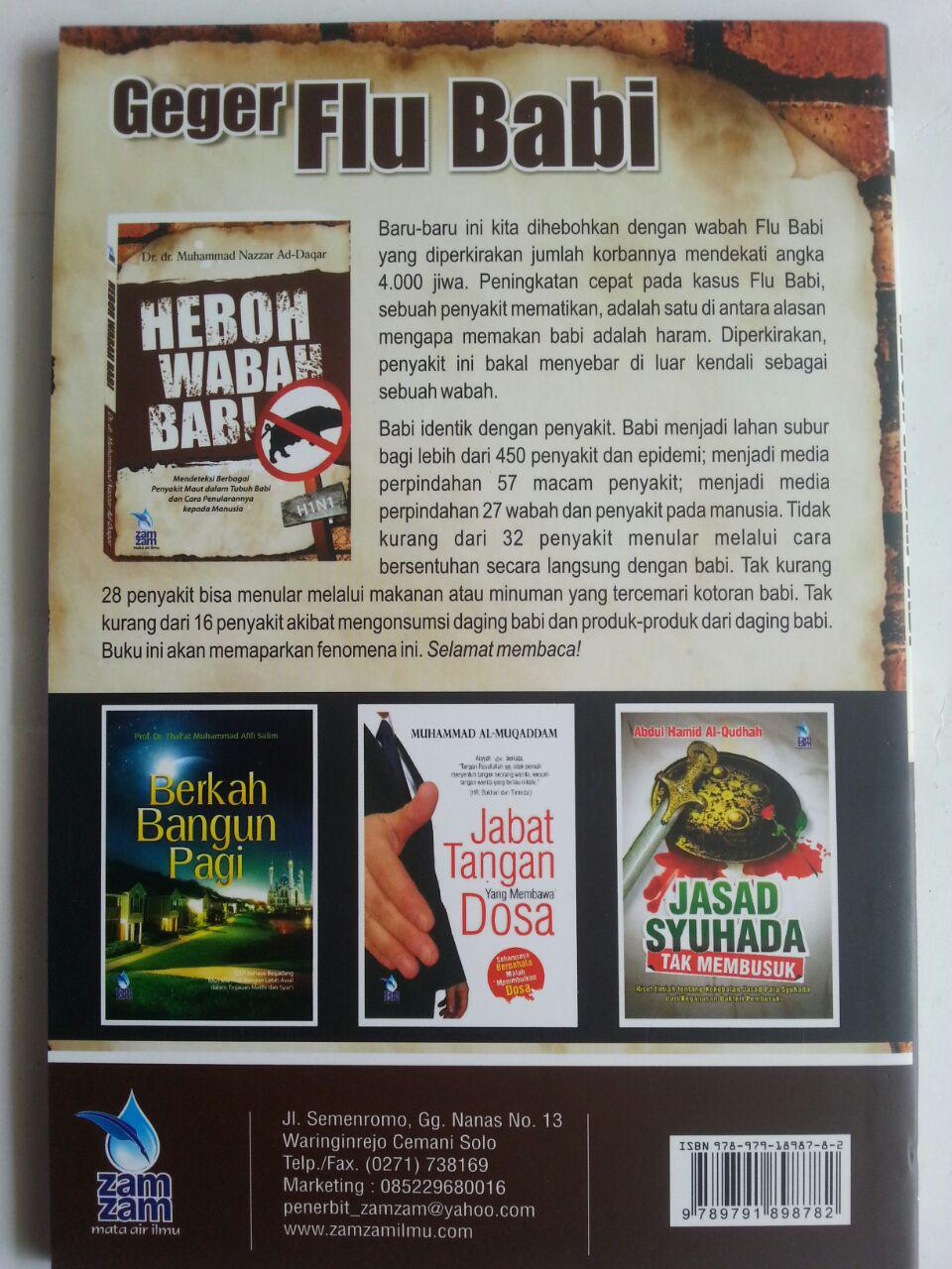 Buku Heboh Wabah Babi Mendeteksi Berbagai Penyakit Dalam Babi cover