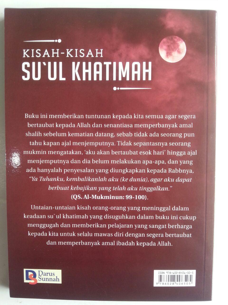 Buku Kisah-Kisah Su'ul Khatimah Kematian Yang Buruk cover