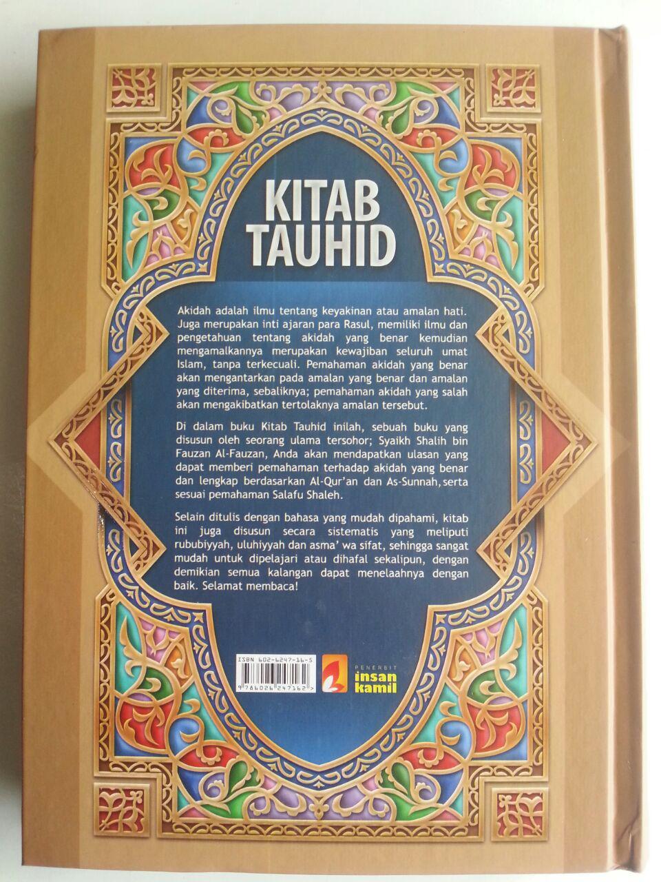 Buku Kitab Tauhid Syaikh Fauzan cover