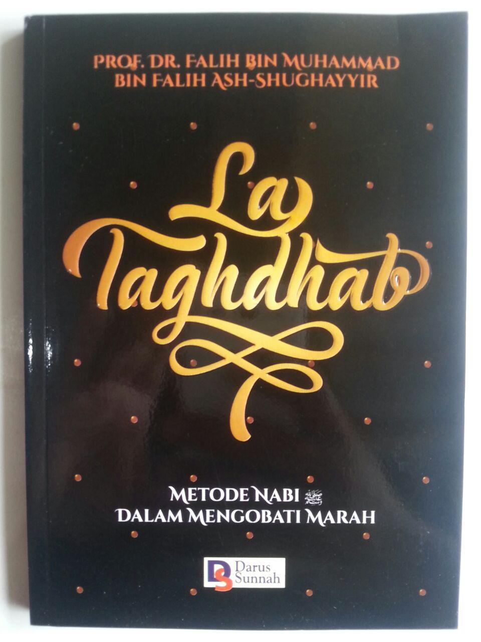 Buku La Taghdhab Metode Nabi Dalam Mengobati Marah cover 2